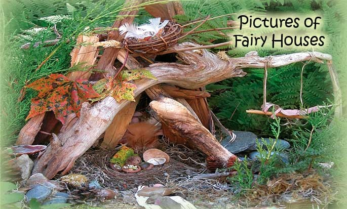 See Photos of Fairy Houses
