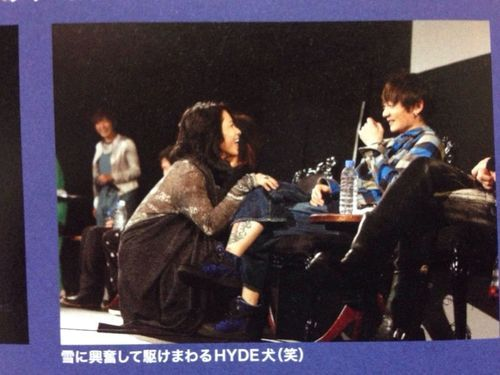 Hyde and KAZ - Vamps.