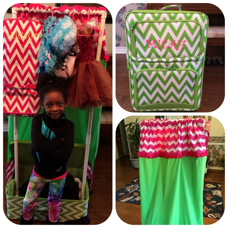 Dance Bag With Garment Rack Made Using Pvc Pipes Privacy
