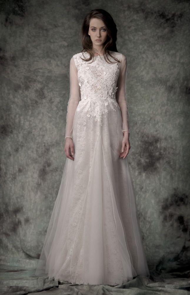 Mimosa Wedding Gown – Simona Semen – Rochie de mireasa Mimosa