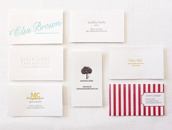 36 best my business cards images on pinterest business card business cards in love with the striped one letterpress reheart Choice Image