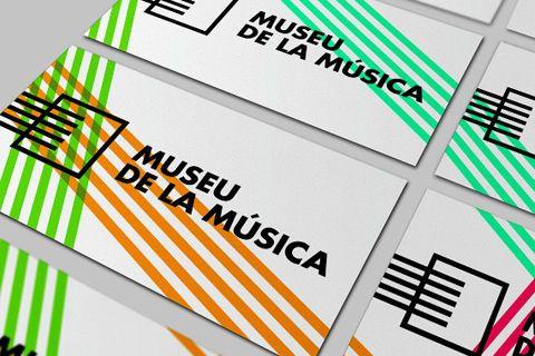 Étudiant à l'école supérieure de design, Fredic Barrera a élaboré une éventuelle refonte de l'identité du musée de la musique de Barcelone.