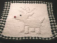 Ravelry: Rollicking Reindeer pattern por Knitted Kitty ~ Carol