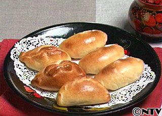 日本でも親しみの深いおやつパン。ロシアでは日本のおにぎりのような存在で、具も色々。「ピロシキ」のレシピを紹介!