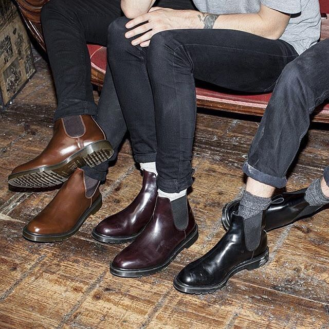 Graeme Chelsea Boot by @DrMartensOfficial will have you set for the fall!