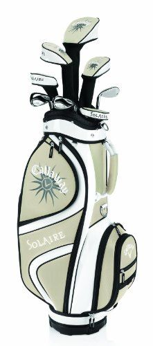 Callaway Women's Solaire 9-Piece Champagne Starter Set (Right-Handed, Driver, 5-P, Graphite Shaft)
