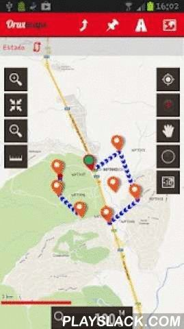 OruxMaps  Android App - playslack.com ,  Map viewer, track logger.You can use OruxMaps for your outdoor activities (running, treking, mountain bike, paragliding, flying, nautic sports,....)100% free100% no adversisementsOnline and offline maps. Support to multiple formats:-OruxMaps format. You can use maps from Ozi Explorer transformed wit a PC tool.-.ozf2-.img garmin (vectorial) -no full support is provided-.-.mbtiles-.rmap-.map (vectorial from mapsforge). Support to custom themes similat…