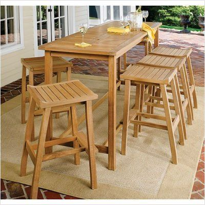 Bundle-43 Dartmoor Bar Height Dining Set (5 Pieces) Finish: Brown Umber by Oxford Garden. $1635.20. [***INCLUDED IN THIS SET: (1)Dartmoor Long Bar Table, (4)Dartmoor Bar Stool] Finish: Brown Umber Features: -Umbrella hole.-Seats eight. Construction: -Backless stools feature contoured seats, robust construction and an enlarged footrest for hours of comfort. Dimensions: -Table: 78 3/4''L 27 1/2''D 43 1/4''L.-Stool: 20 1/4''L 17''D 32''H.