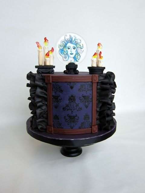 Delectable Cakes: Disney Haunted Mansion Birthday Cake
