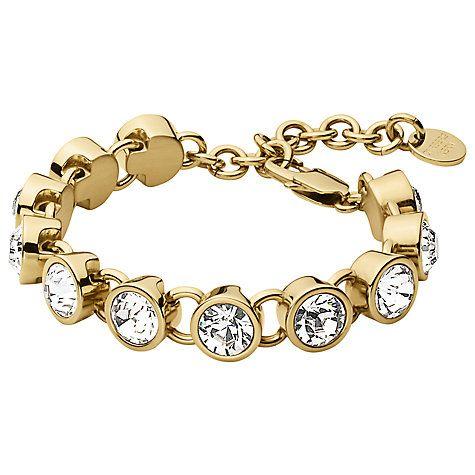 Buy Dyrberg/Kern Ciara Swarovski Crystal Bracelet Online at johnlewis.com