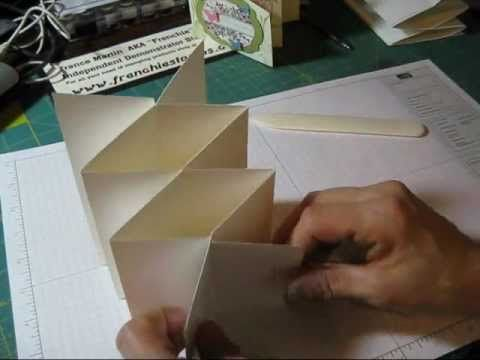 Cascading card with Dawn - YouTube