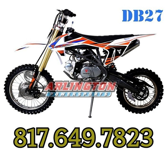 TaoTao DB27 125cc Off-Road Dirt Bike, Kick Start, Air Cooled