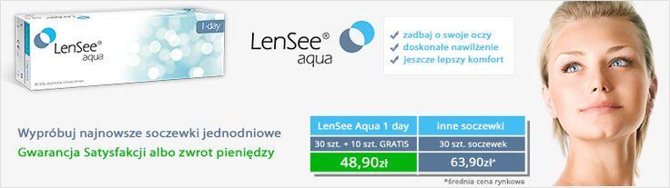 LenSee Aqua 1 day. Nowoczesne okulary jednodniowe