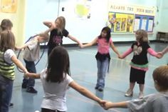 10 Fun Team-Building Activities For Kids - ACTIVE.com  I have done the hula hoop one many times and it is fun for kids and teachers.