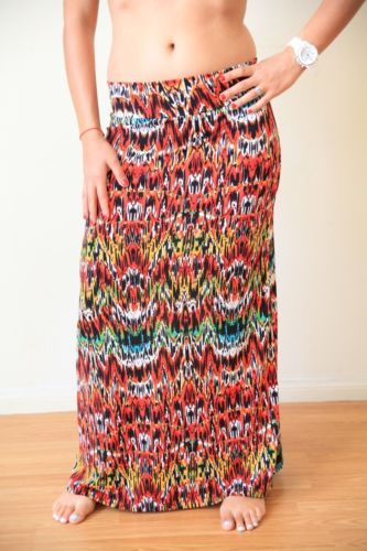 Cape-Pacific-Clothing-Funky-Multi-Colored-Maxi