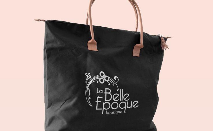 Identidad corporativa para boutique de ropa femenina La Belle Èpoque #graphitheque #identidadvisualcorporativa #logo #graphicdesign #diseñografico #branding #logotype