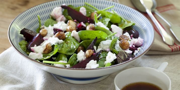 Beetroot and Macadamia Salad