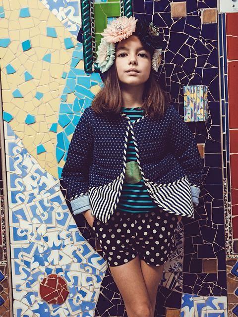 Le flower power de Margherita Missoni | MilK - Le magazine de mode enfant | Margherita Kid #margheritakids