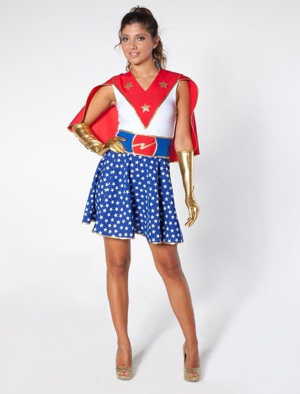 Supergirl Kostüm mit Umhang für Karneval kaufen | Deiters