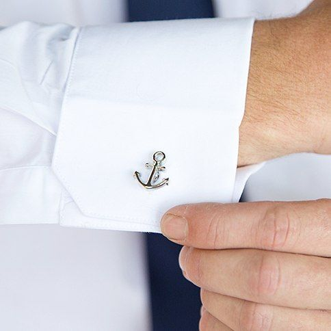 Aye Aye #Captain ⛵ be #inspired to use a #nautical #theme all the way through from the #engagement shoot to the #wedding day !!! Your #guests wil #love it & you will have a #great sequence of #photos to talk about... #photography #potd #weddingvibes #anker #sailor #white #navy #cufflinks #smallthings #detail #detailphotography #stokerstudio Join our crew  Follow us @stoker_studio