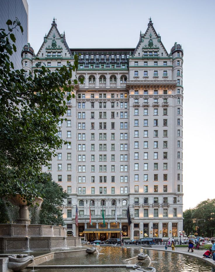 Tips for Finding a Great NYC Hotel The Plaza Hotel at 59th, Fifth Central Park South. The lobby is amazing. Go in and walk through even if you dont want to have a drink or its not your lifestyle or in your pocket book.