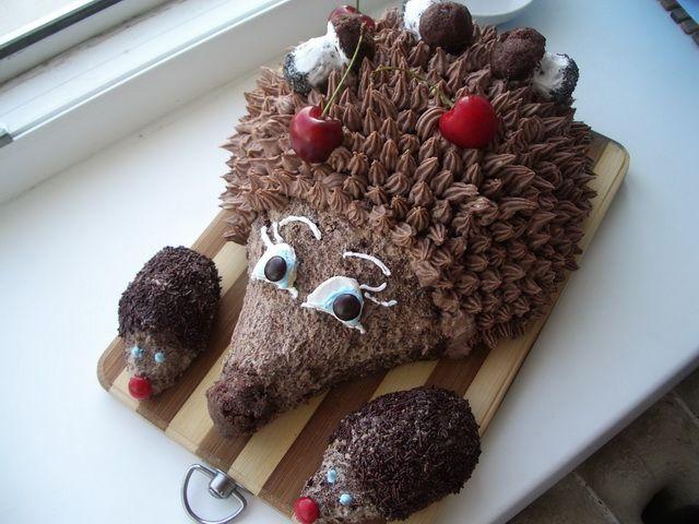 Рецепт торта ежик с печеньем