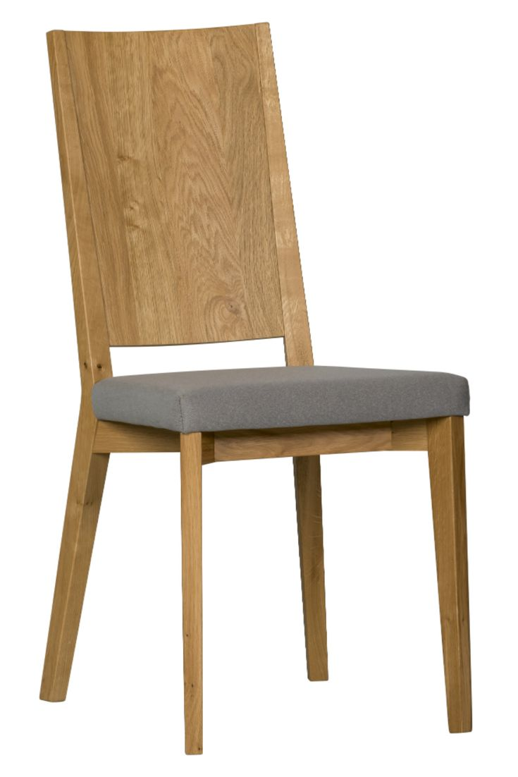 Modern chair with wooden backrest  - Sella chair from Klose #modernchair #KloseFurniture