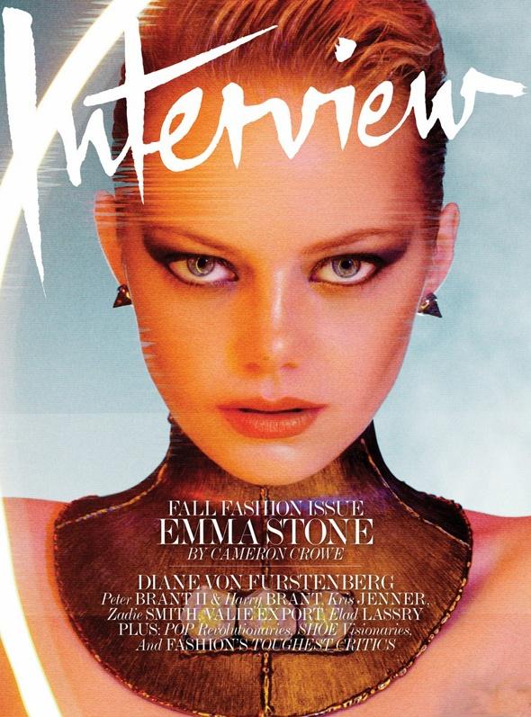 Emma Stone na Interview - lindaaaa
