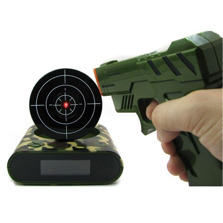 Like and Share if you want this  Target Laser Shooting Gun Alarm Clock   Tag a friend who would love this!   FREE Shipping Worldwide   Get it here ---> https://zagasgadgets.com/gadget-target-laser-shooting-gun-alarm-clock-digital-electronic-desk-clock-table-watch-nixie-clock-snooze-bedside-for-kids/
