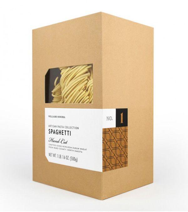 Artisan Pasta Collection - Branding & Modern Packaging Design