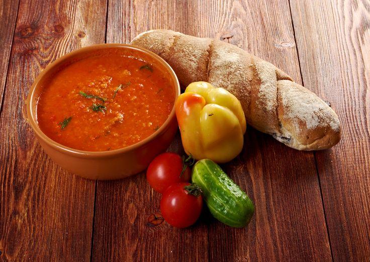 Rajčinová polievka na toskánsky spôsob
