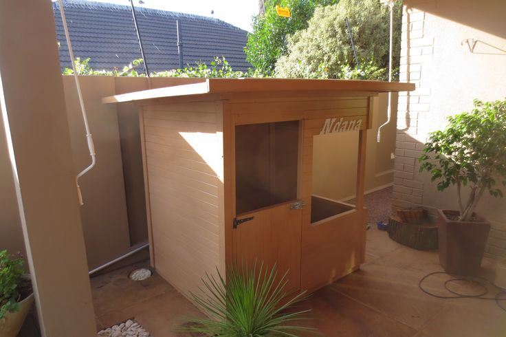 Custom Built Playhouse by Playground Wizards. Contact: sales@playgroundwizards.co.za http://www.playgroundwizards.co.za