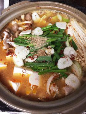 とり野菜みそで簡単もつ鍋 by CHIHARUNB [クックパッド] 簡単 ...