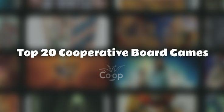 Top 20 Cooperative Board Games - 2017 Co-op Board Games