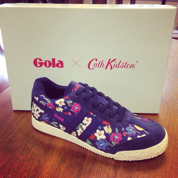Cath Kidston X Gola trainers