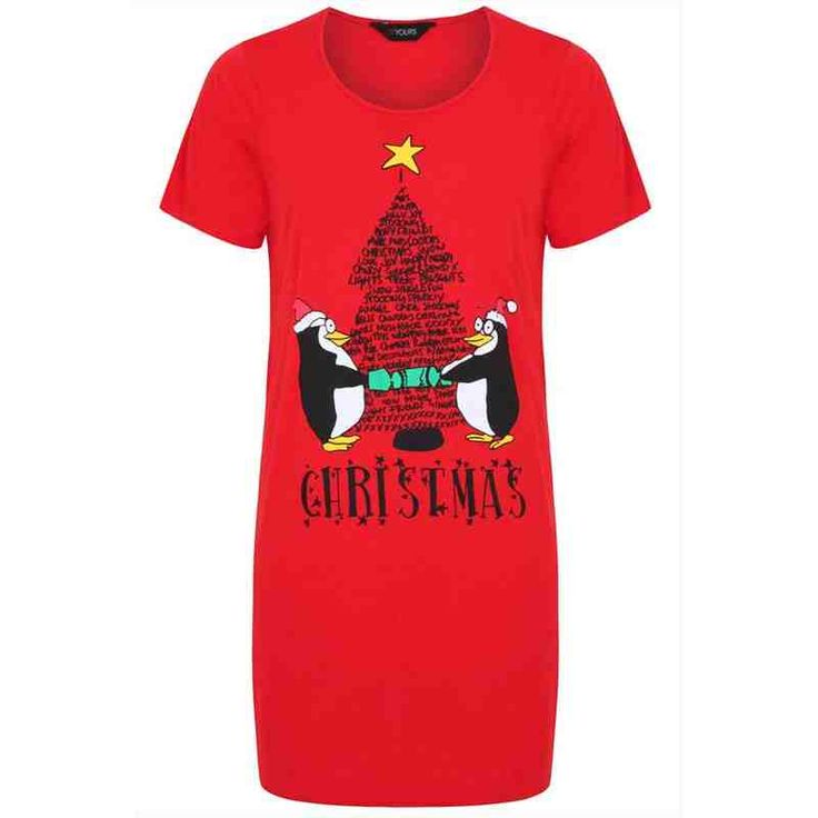 PRE-ORDER - Red Penguin Christmas Nightdress $37.00 http://www.curvyclothing.com.au/index.php?route=product/product&path=95_105&product_id=8602&limit=100
