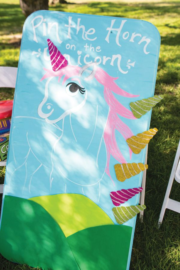 Vibrant Rainbow Unicorn Party {Adult Birthday} // Hostess with the Mostess®