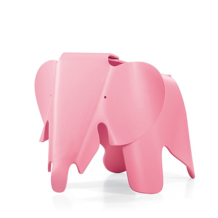 Eames Elephant Light Pink by Charles & Ray Eames