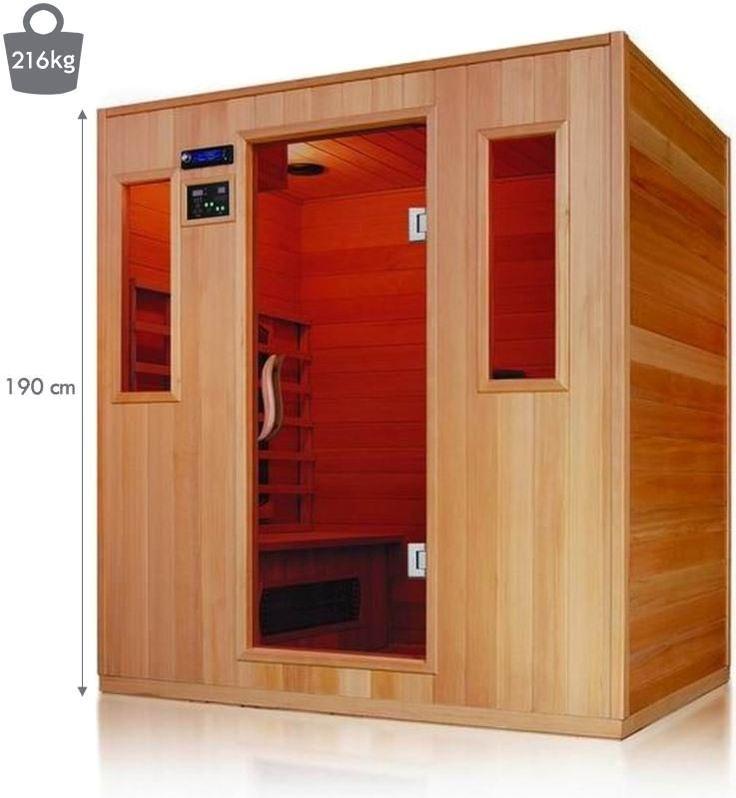 9 best cabine de soins infrarouge images on pinterest cabin saunas and steam room. Black Bedroom Furniture Sets. Home Design Ideas