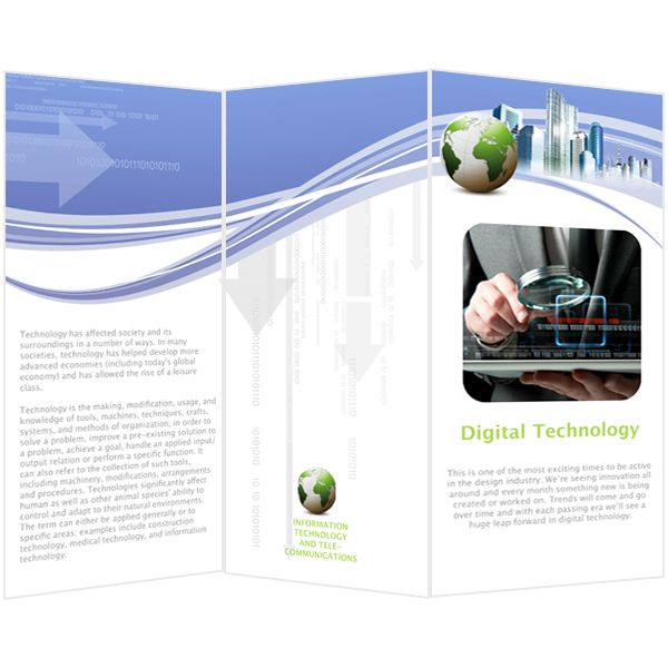Digital Technology Brochure.