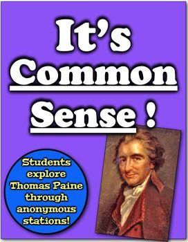 it 39 s common sense students examine thomas paine through anonymous groups thomas paine common. Black Bedroom Furniture Sets. Home Design Ideas