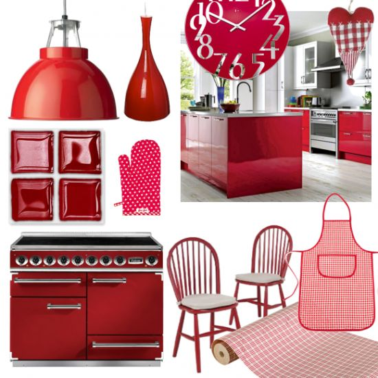 17 best images about red on pinterest trees cars and shops - Red kitchen decor accessories ...