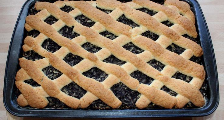 Almás-mákos pite recept