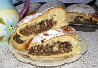 W Mojej Kuchni Lubię.. : makowo-jabłkowe ciasto drożdżowe...