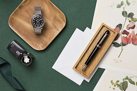 Styling Lisa Bender for Montblanc - photography by Lina Zangers