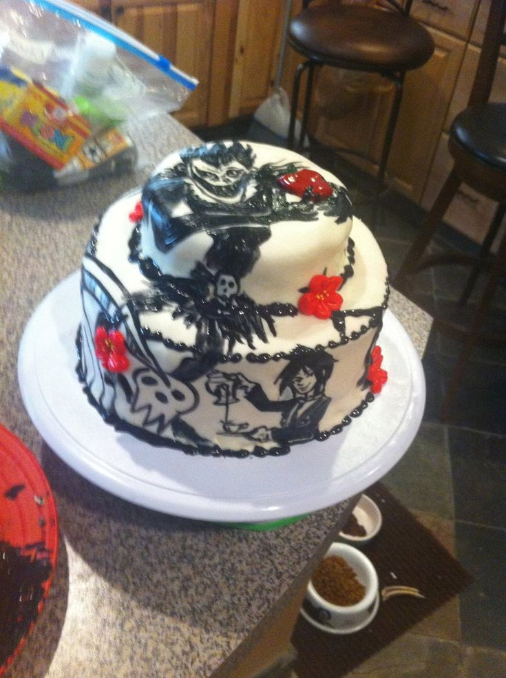 17 Best Ideas About Anime Cake On Pinterest Team Rwby