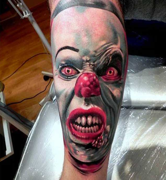 17 Best Ideas About Clown Tattoo On Pinterest