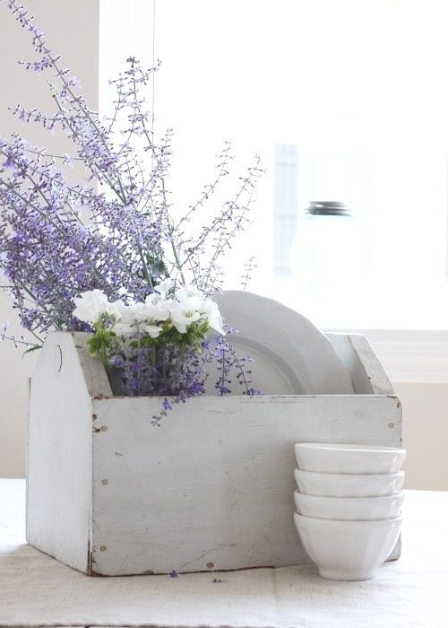 Pottery and Lavender