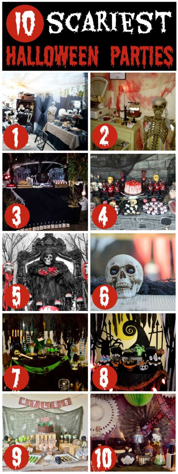 halloween horror party ideas