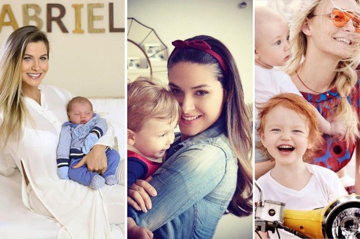 16 famosas que são mães de meninos